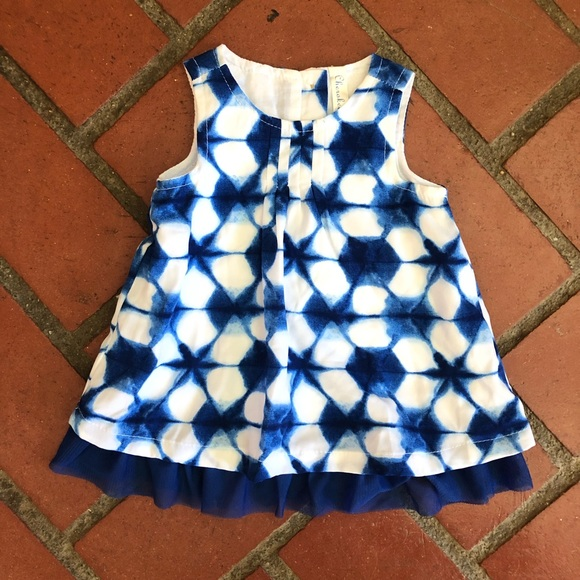 Cherokee Other - Blue Easter Dress